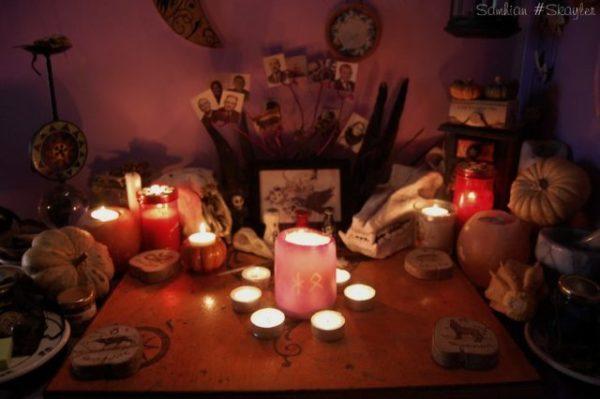 свечи для магии