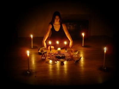 приворот при свечах
