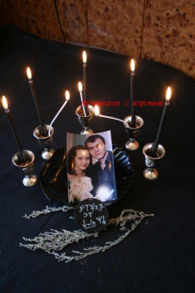 приворот по фото в домашних условиях со свечей