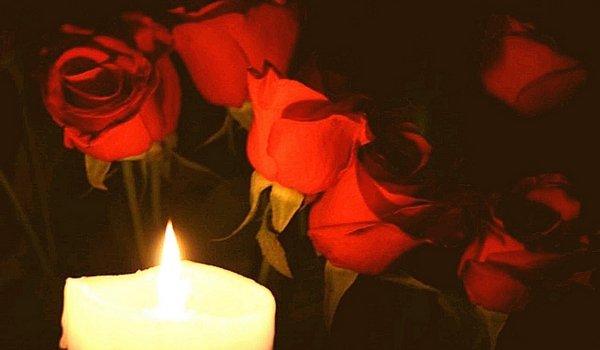 свечи розы