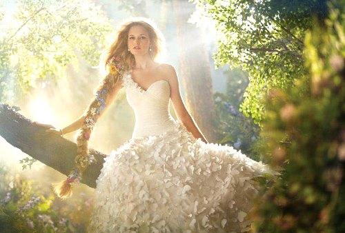 Вижу восне себя в свадебном платье