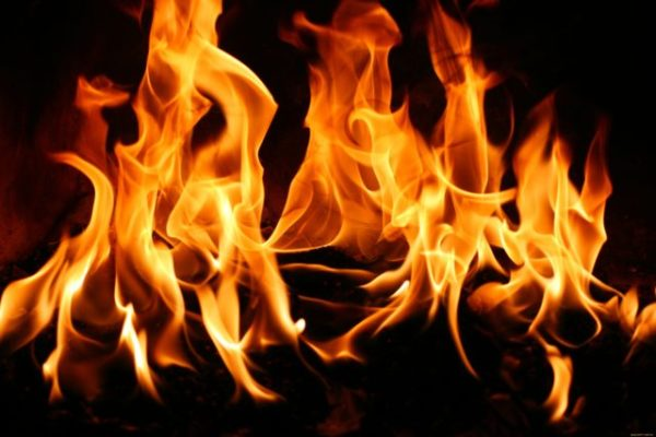 огонь на заговор