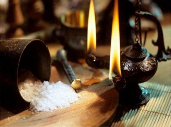 заговор на соль на удачу
