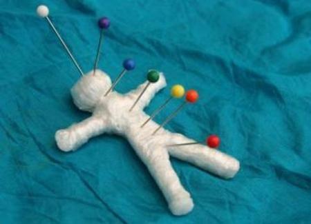 сделать куклу вуду для похудения