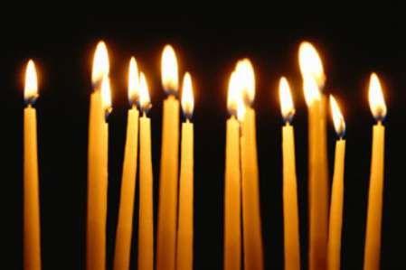 сильный заговор при свечах