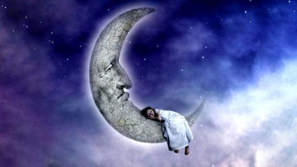 сон и луна