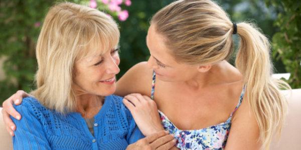 разговор с покойной матерью