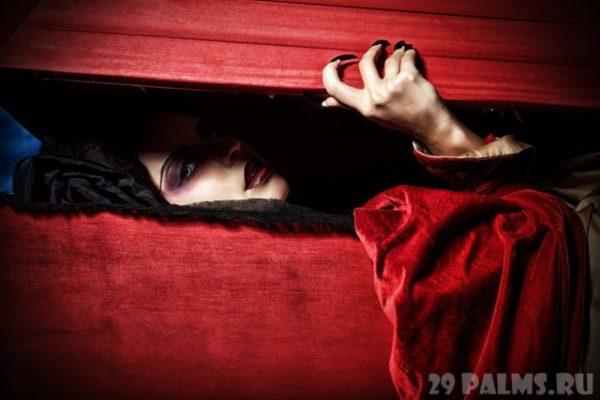 мертвец встает из гроба во сне
