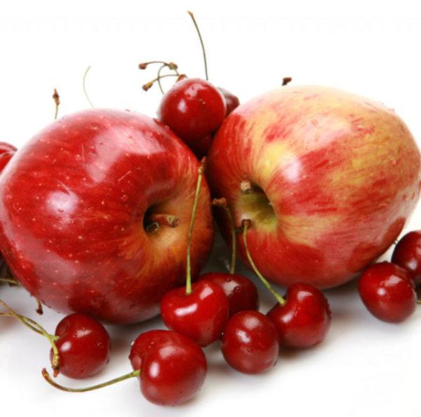 вишни и яблоки