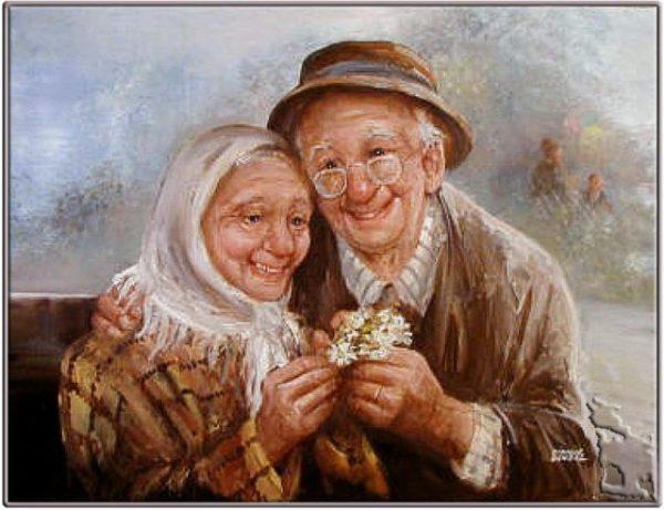 умершие бабушка и дедушка